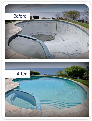 Pool cleaning and restoration